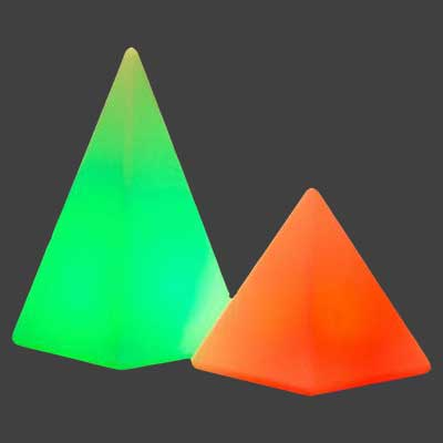 Cordless lights - Pyramid