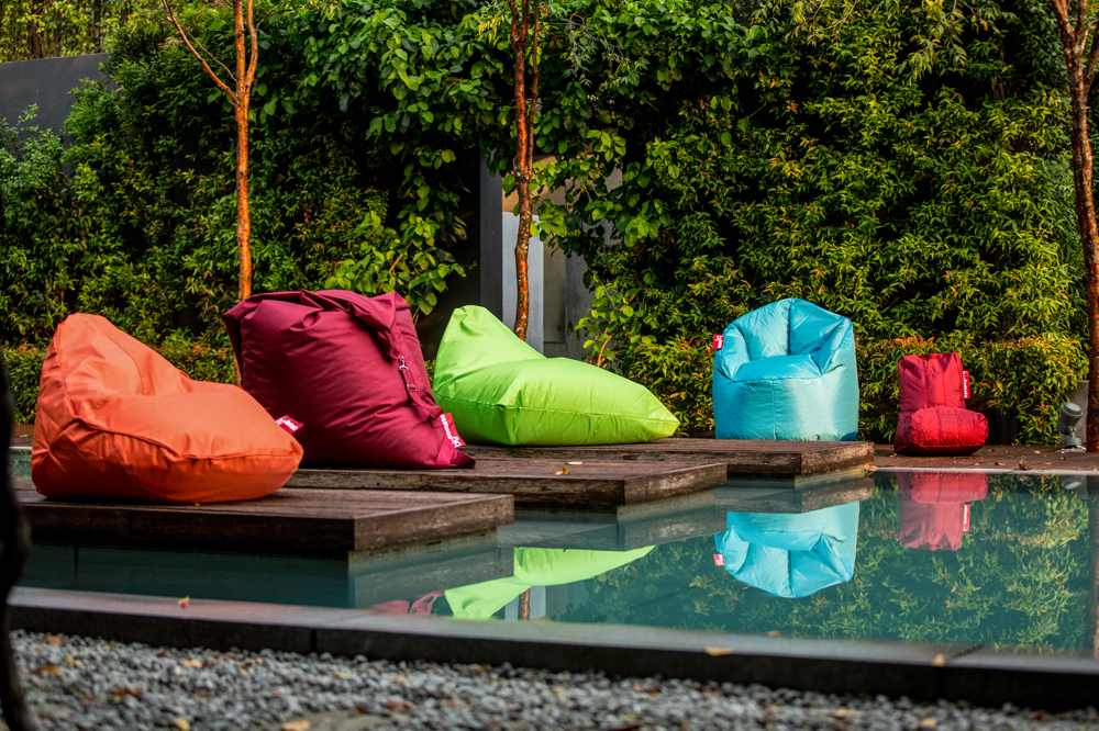 Big Tomato outdoor and indoor beanbags